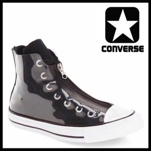 CONVERSE SNEAKERS Black & Clear High Tops